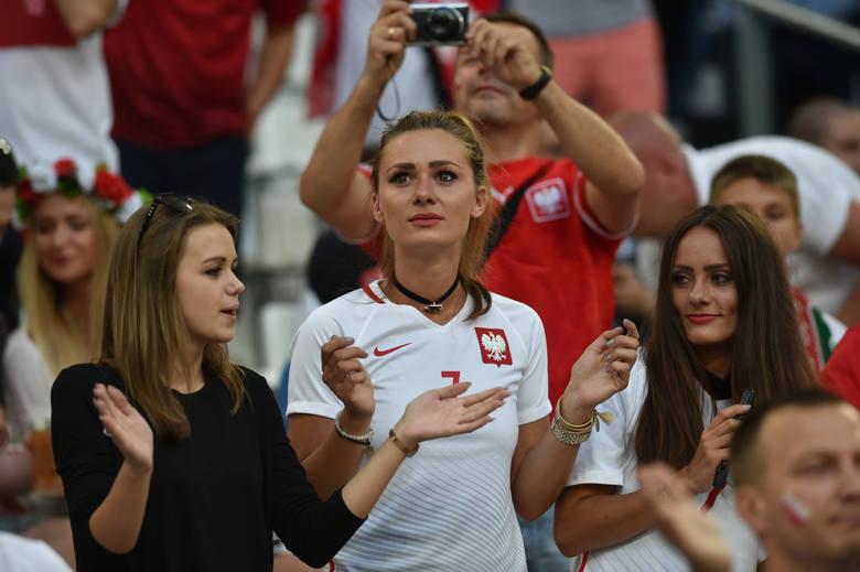 Polskie WAGs na meczu z Portugalią: Lewandowska wzruszona, Ziółek smutna [GALERIA]