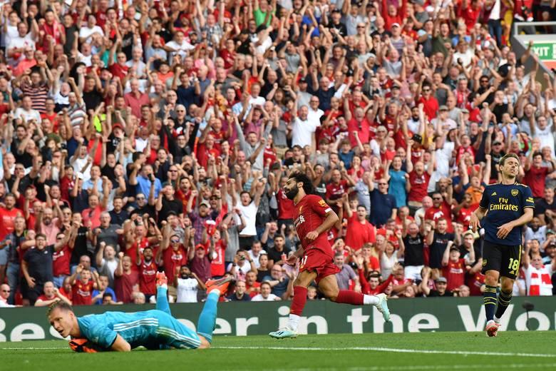 Świetny Mohamed Salah. Dwa gole Egipcjanina i Liverpool zmiażdżył Arsenal