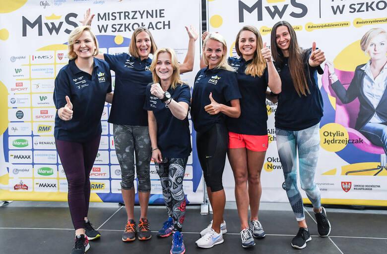 Wielkie mistrzynie sportu odwiedzą szkołę w Rypinie