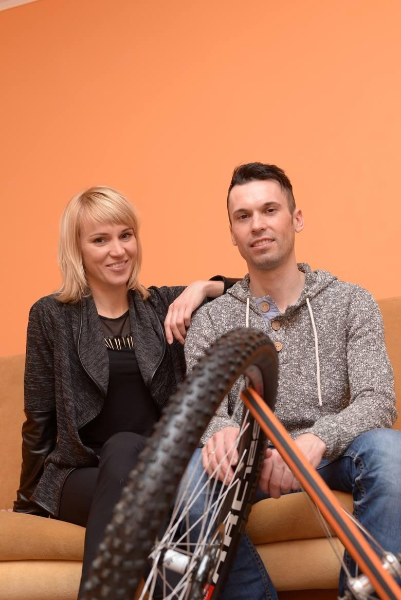 Marek Rutkiewicz z żoną Anną Szafraniec-Rutkiewicz