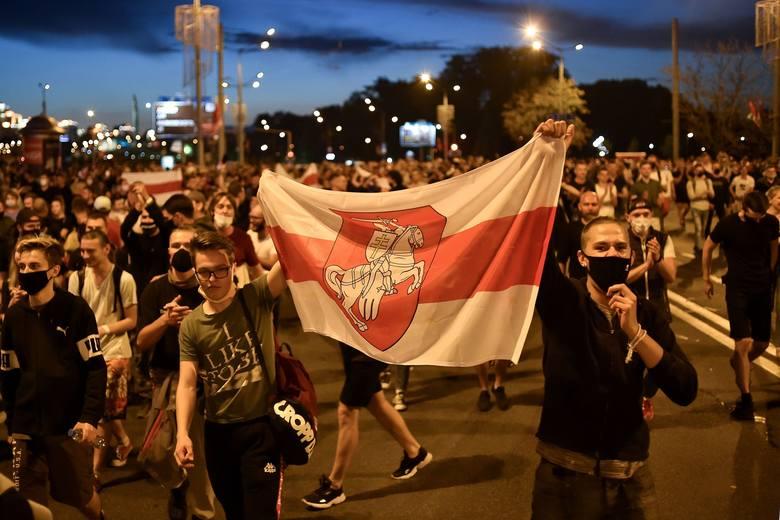 Zwolennicy opozycji wyszli na ulice. Domagają się ogłoszenia prawdziwych wyników wyborów