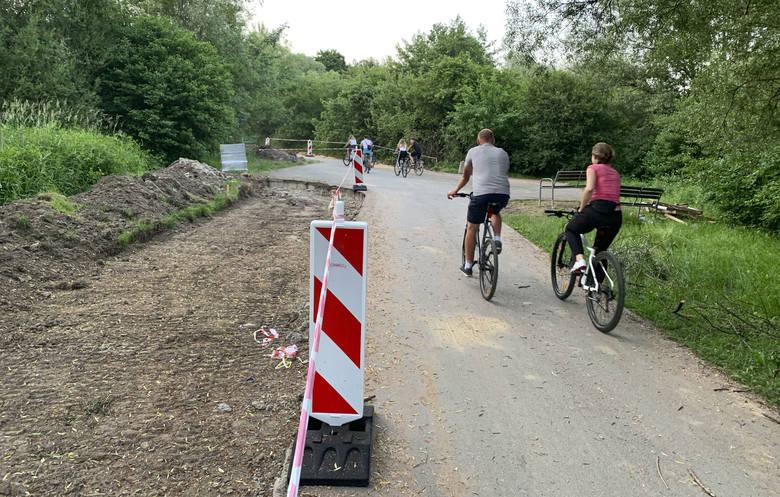 Ścieżka na Lisiej Górze w Rzeszowie będzie rozszerzona do ul. Jarowej. Prace już ruszyły.