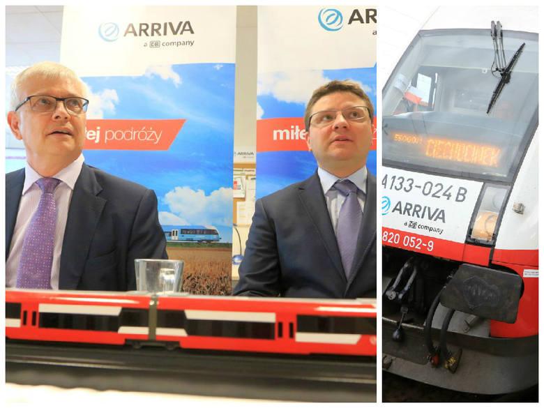 Gościem uroczystości przeniesienia siedziby Arrivy RP do Torunia był m.in. Robin Barnett (od lewej), ambasador Wielkiej Brytanii i Irlandii Północnej.