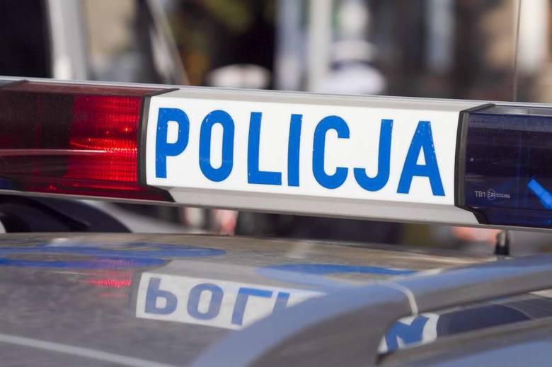 Wypadek w Skalmierzycach: Zderzyły się ciężarówki