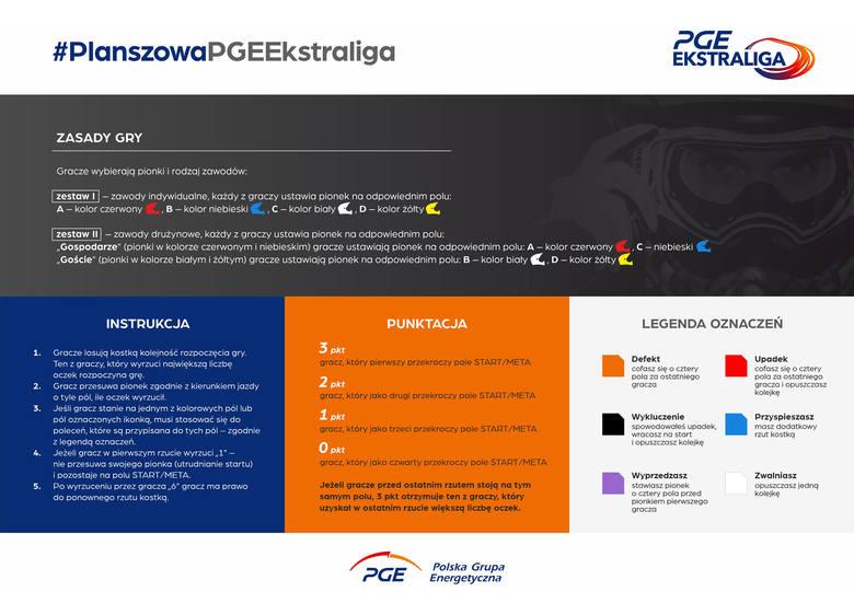PGE Ekstraliga przygotowała grę planszową dla kibiców żużla