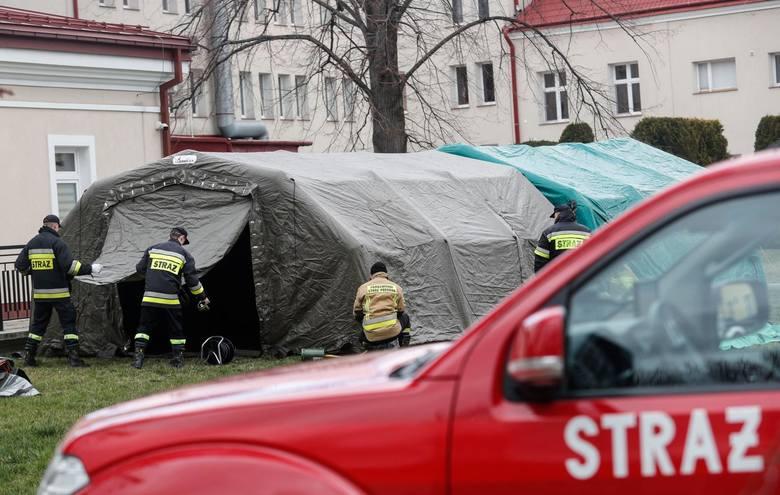 Szpital w Łańcucie to jedna z 19 lecznic w Polsce,  które w całości zostały przekształcone w jednoimienne - zakaźne.