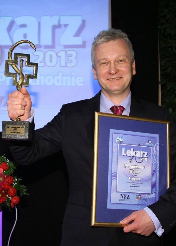 Lekarz Roku w Kielcach i w województwie, doktor Przemysław Wolak ze szpitala dziecięcego.