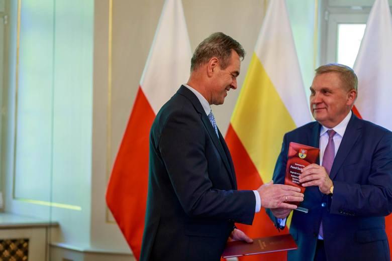 Wręczenie nagród sportowcom i trenerom z Białegostoku
