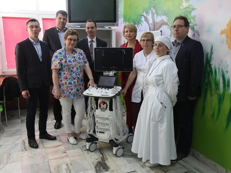 Szpital w Lesku dzięki Fundacji Wielkiej Orkiestry Świątecznej Pomocy ma nowe USG