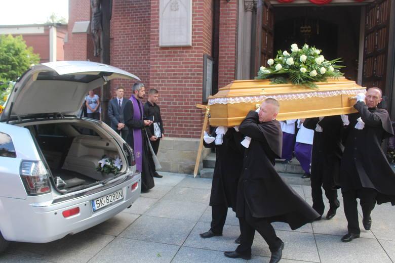 Pogrzeb Dominika Koszowskiego w kościele w Bogucicach