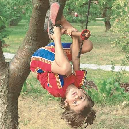 Myślibórz > Mieszkańcy Kierzkowa sami przygotowali sobie plac zabaw