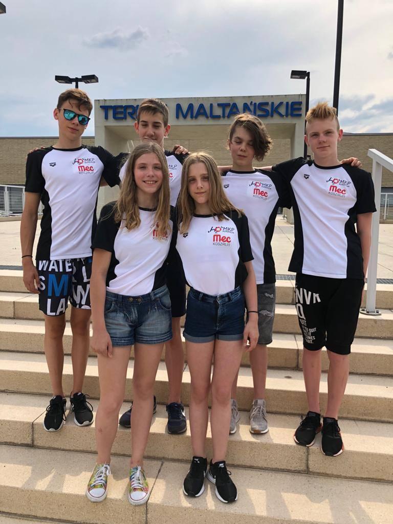 Występami w Mistrzostwach Polski Juniorów 14 ,15 oraz 16 letnich zawodnicy MKP H2O Koszalin zakończyli starty w sezonie letnim. Przygotowania do najważniejszych