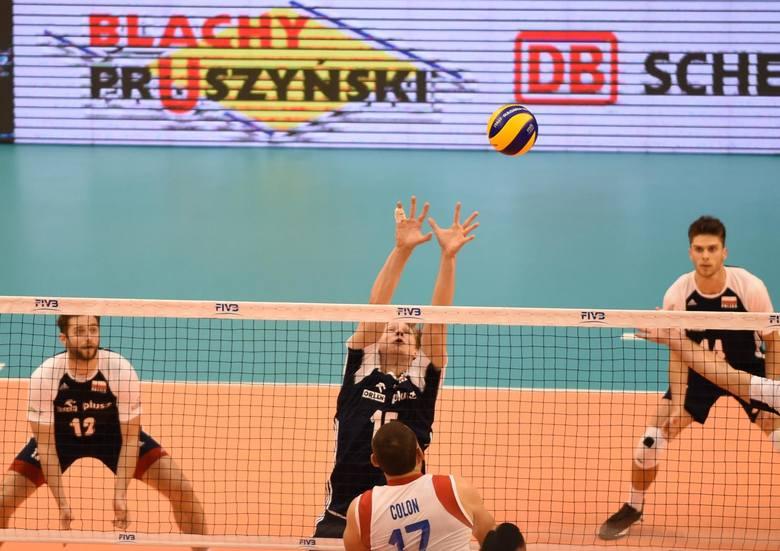 Polska w spotkaniu z Portoryko miała 11 asów, najwięcej, po trzy, zaserwowali Grzegorz Łomacz (nr 12) i Mateusz Bieniek (20).