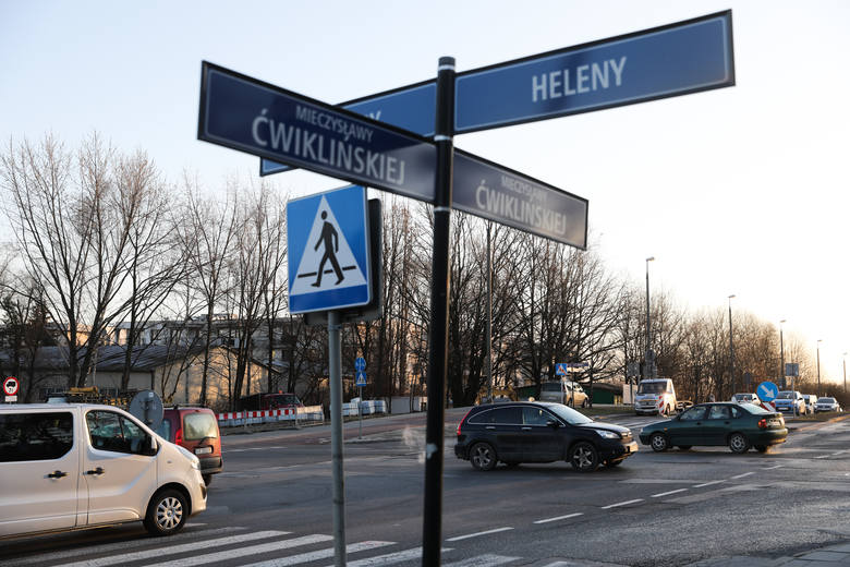 Kraków. Nowe rondo powstaje w Bieżanowie [ZDJĘCIA]