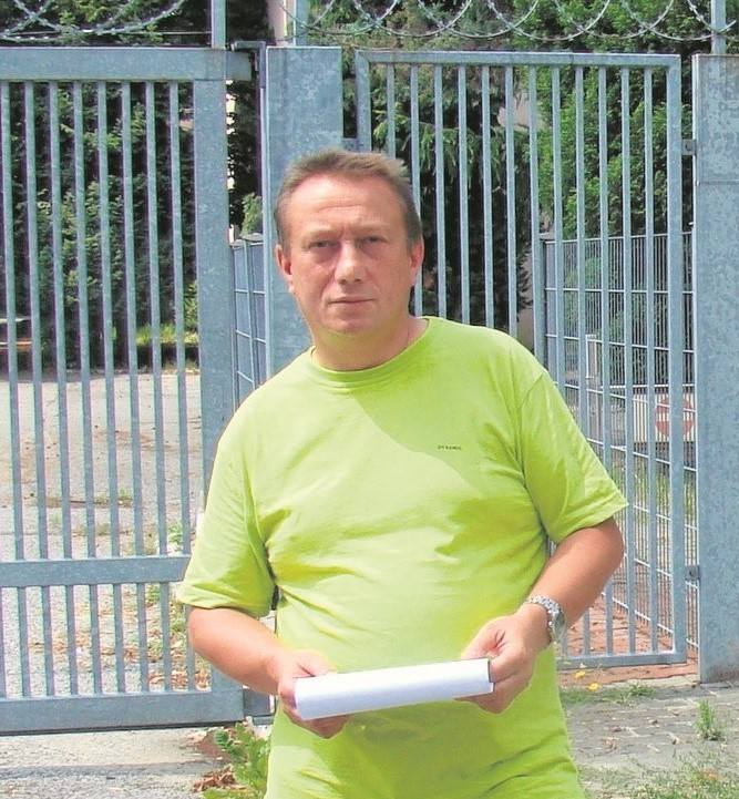 Mirosław Kecmaniuk, pasjonat historii z Oświęcimia od dłuższego czasu zabiega o uhonorowanie Jana Jakuczka