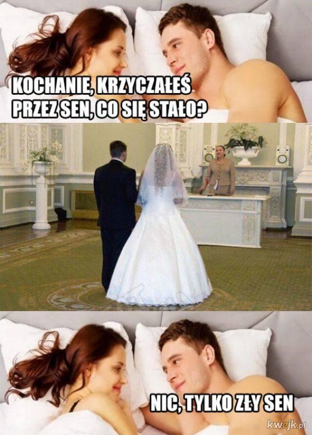 To najlepsze ŚLUBNE MEMY! Internauci nie mają litości i śmieją się z żon, mężów i... ślubów! 4.12.2020