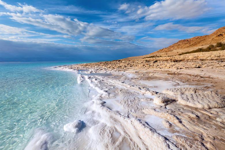 Morze Martwe Morze Martwe kurczy się z roku na rok. 1/3 jego objętości zniknęła w ciągu ostatnich 40 lat, a proces przyspiesza. Restauracje znajdujące
