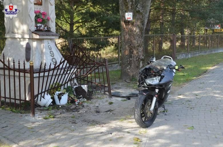 Wypadek w Mokrem