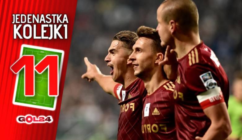 Legia pozamiatała, Lechia zdobyła Poznań. Jedenastka 14. kolejki Lotto Ekstraklasy według GOL24 [GALERIA]