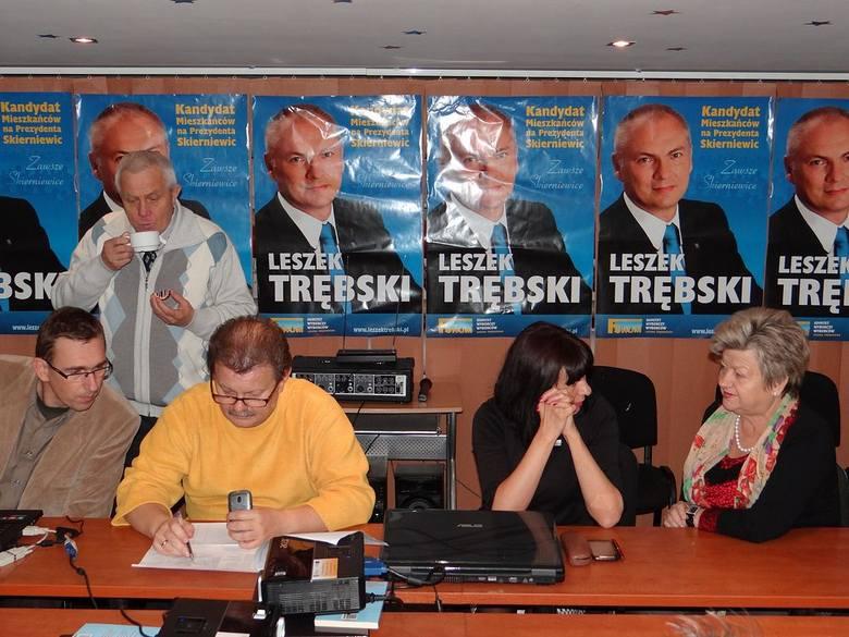 Wybory 2014 w sztabie Leszka Trębskiego