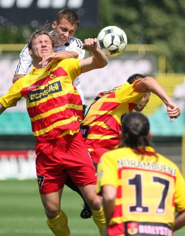 Mecz Jagiellonia - Legia - 2008 rok