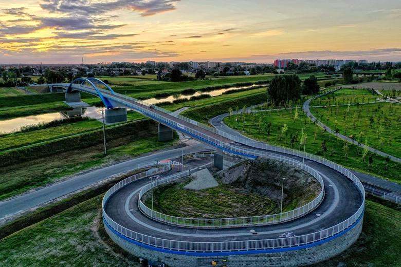 Most im. Joachima Halupczoka nad Kanałem Ulgi w Opolu jest już dostępny. Otwarcie przeprawy w niedzielę