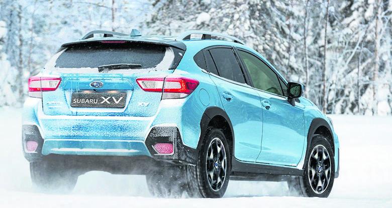 Subaru nie tańczy na śniegu i lodzie