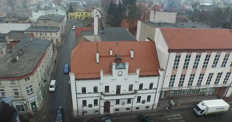 Także zimą Koronowo może być piękne. Zobacz zdjęcia i wideo z lotu ptaka.