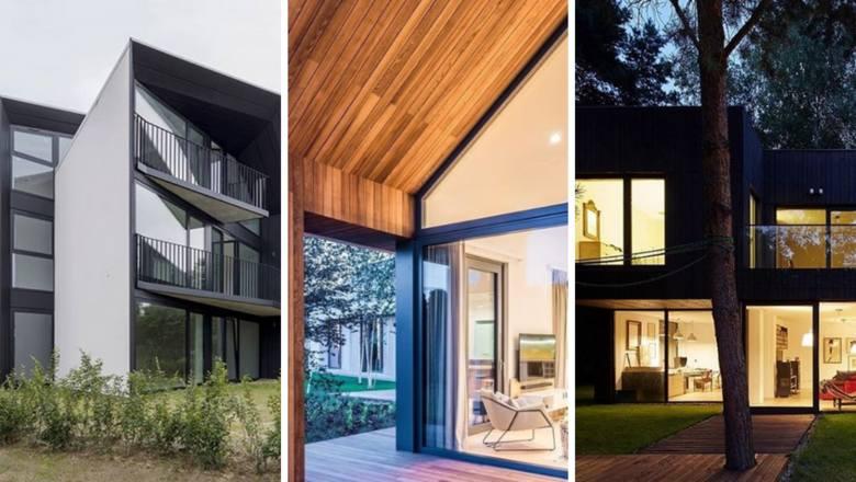 Jakie powinny być nowoczesne domy? Przytulne, dobrze oświetlone i przestronne. Te niebanalne budynki prezentują ekologiczne i pomysłowe rozwiązania