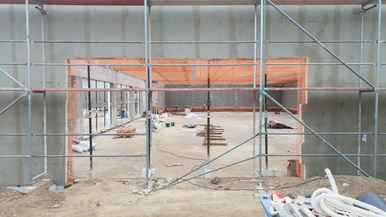 Nowe sklepy przy ul. Ligonia w Krapkowicach obok Kauflandu i Aldi - Action, Kik, Martes Sport