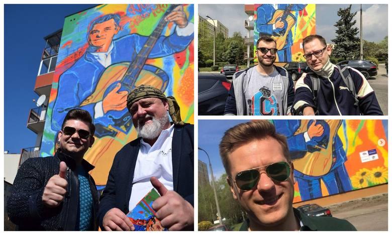 Mural Zenka Martyniuka robi furorę na Instagramie. Internauci robią selfie z Zenkiem (zdjęcia)
