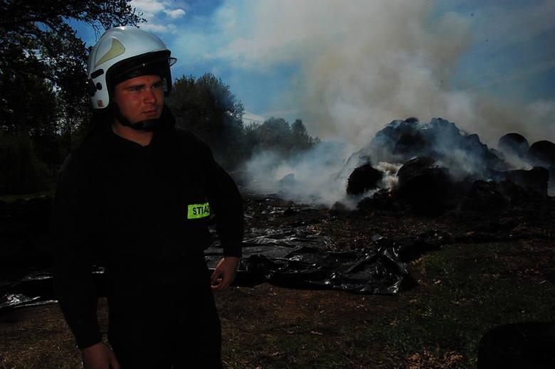 Jeszcze przez co najmniej tydzień potrwa akcja dogaszania pożaru