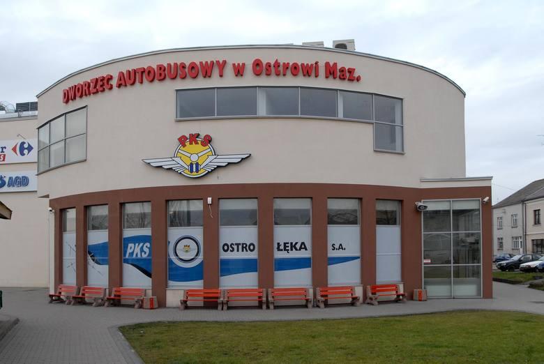Nie można dojechać autobusem z Ostrowi do Ostrołęki. Dlaczego?