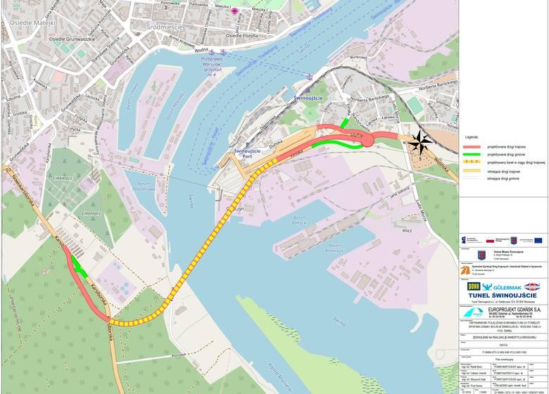 Świnoujście. Powstanie tunel pod Świną, łączący wyspy Uznam i Wolin. Zobacz wizualizację