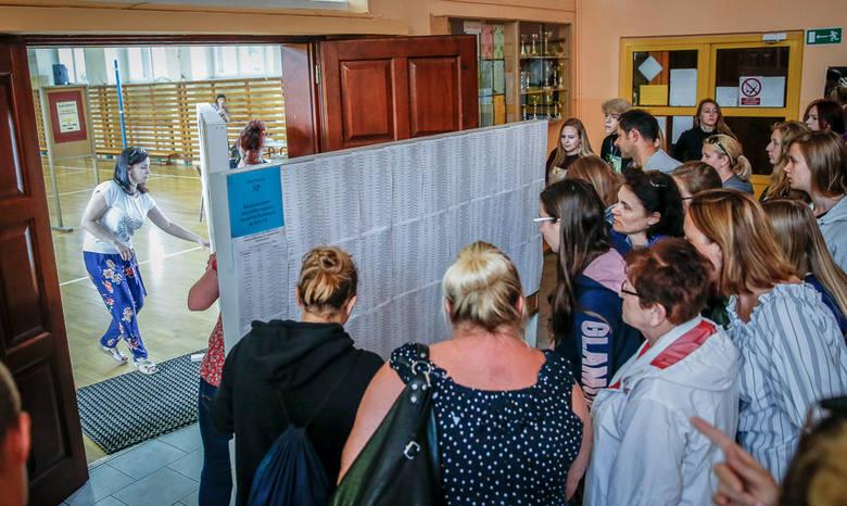Wyniki rekrutacji do szkół średnich ogłoszono w piątek 5.07.2019 r. o godz. 10. Na zdjęciu XIX LO w Gdańsku, jedno z najpopularniejszych liceów w Trójmieście