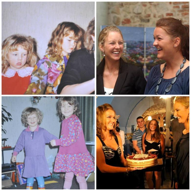 Wyzwanie przyjęte! Unikalne zdjęcia z dzieciństwa sióstr Agnieszki i Urszuli Radwańskich [GALERIA] 4.04