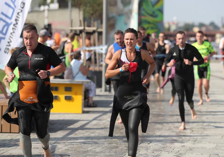 Rekordowy Triathlon Szczecin w niedzielę. 800 zawodników na starcie