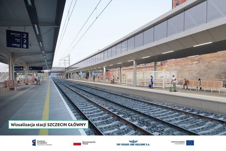 Przebudowa dworca PKP w Szczecinie. Jest poślizg. Kiedy koniec? [ZDJĘCIA, WIDEO, WIZUALIZACJE]