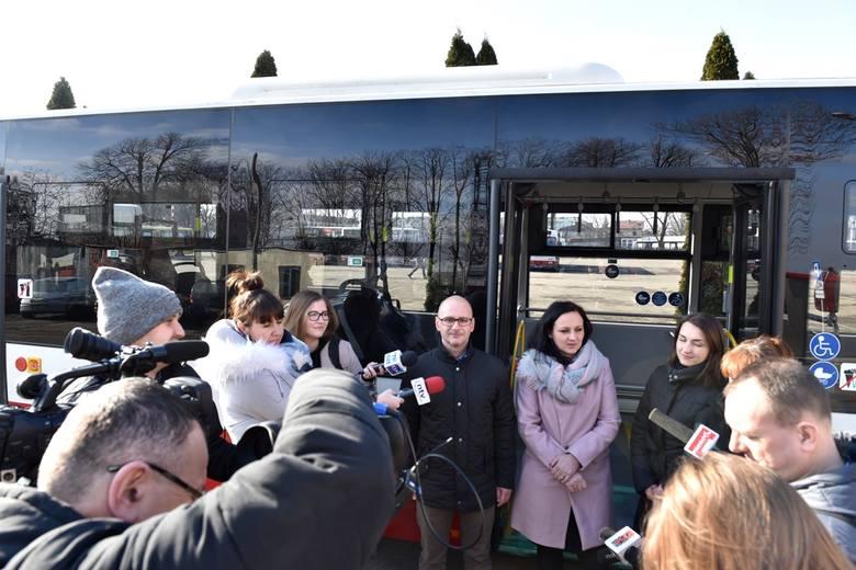 Nowy Sącz. MPK testuje nowy model autobusu. Wiosną kolejne Many wyjadą na ulice