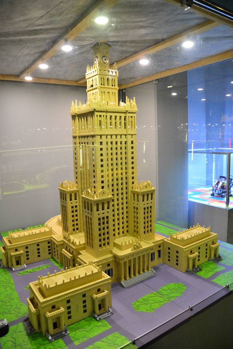 Wystawa klocków Lego w Lublinie