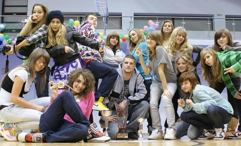 Młodzież z Balance po sukcesie w Lęborku.