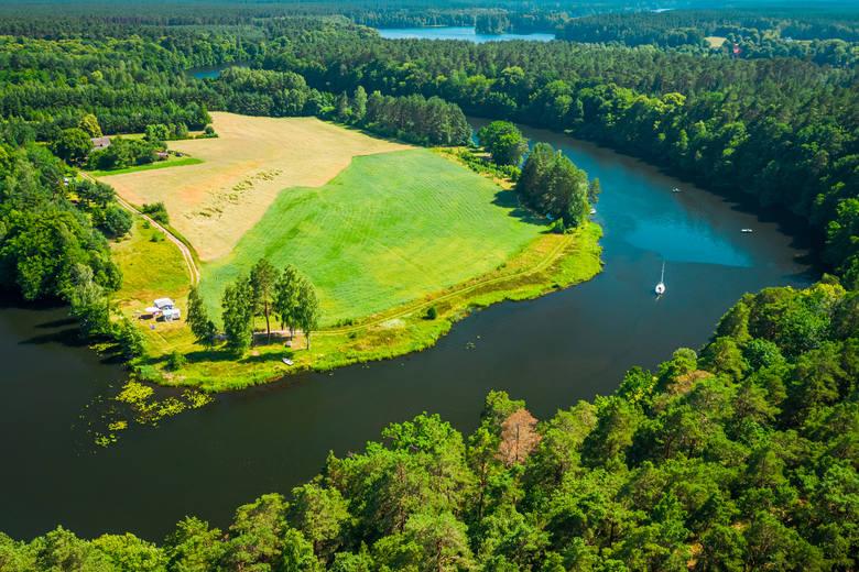 Bory TucholskieJest to jeden z największych kompleksów borów sosnowych w Polsce, poprzetykany jeziorami, nitkami rzek (dwie największe to Brda i Wda)