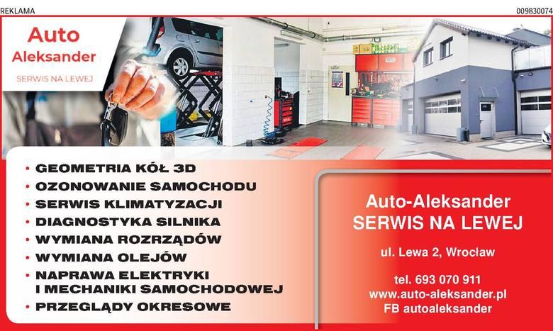 Auto-Aleksander SERWIS NA LEWEJ