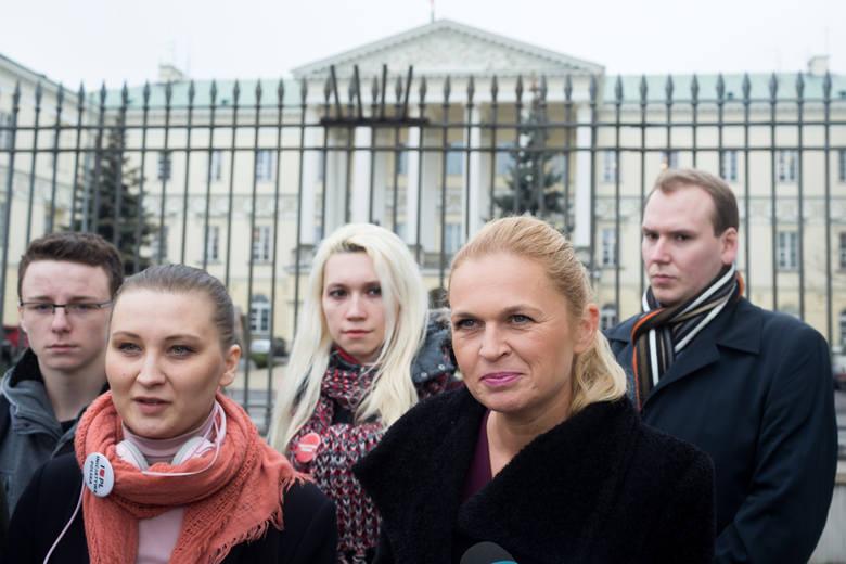 Barbara Nowacka, polityk, działaczka feministyczna, założycielka stowarzyszenia Inicjatywa Polska