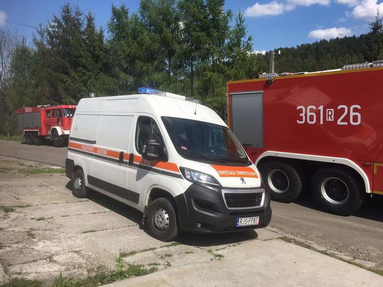 We wtorek podczas prac ziemnych na jednej z posesji w Prałkowcach pod Przemyślem, operator koparki uszkodził rurę z gazem. Do zdarzenia wyjechały trzy