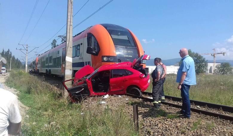 Wypadek w Szaflarach. Śmiertelny egzamin na prawo jazdy. Egzaminator usłyszał zarzuty