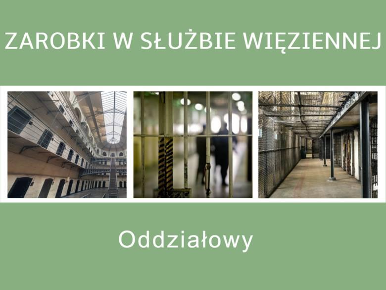 - oddziałowego (uposażenie zasadnicze – 2 321 zł miesięcznie) - starszy oddziałowego (uposażenie  zasadnicze – 2 433 zł miesięcznie)