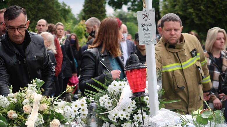 Pogrzeb 11-letniego Sebastiana z Katowic zgromadził tłumy mieszkańców. Został pochowany na cmentarzu parafialnym. Żegnała go także społecznośc szkol