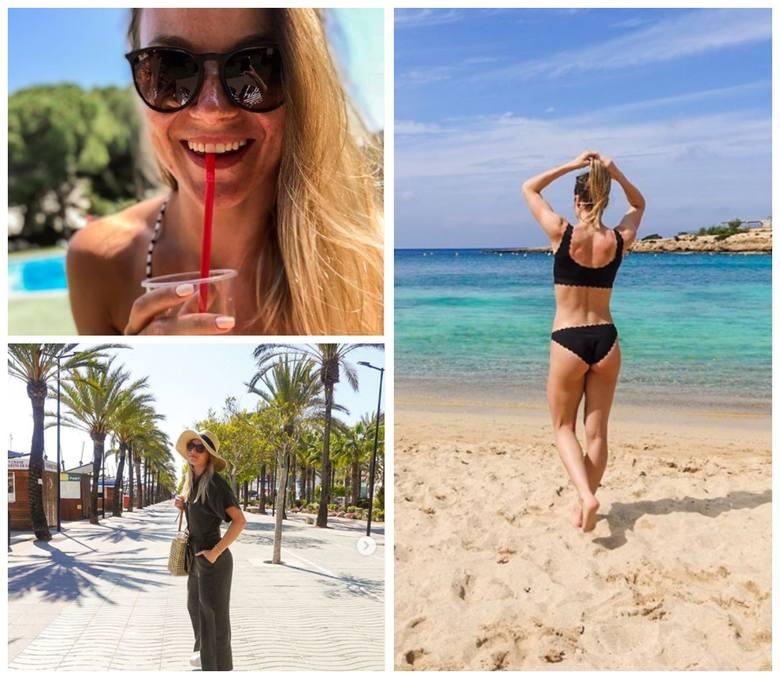 Piękna Natalia Maliszewska na wakacjach na gorącej wyspie