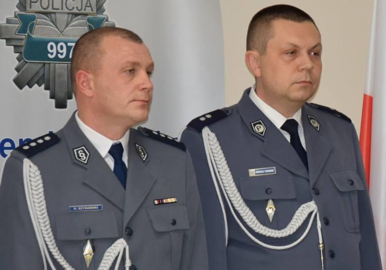Ostrołęka. Zastępcy komendanta policji oficjalnie powołani [ZDJĘCIA]